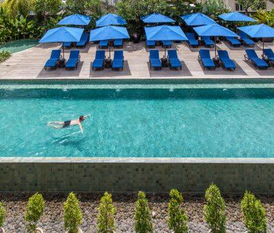 watermark hotel bali main pool