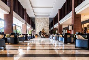 watermark hotel bali Front lobby