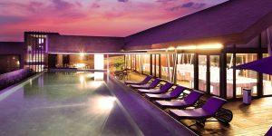 watermark hotel top view