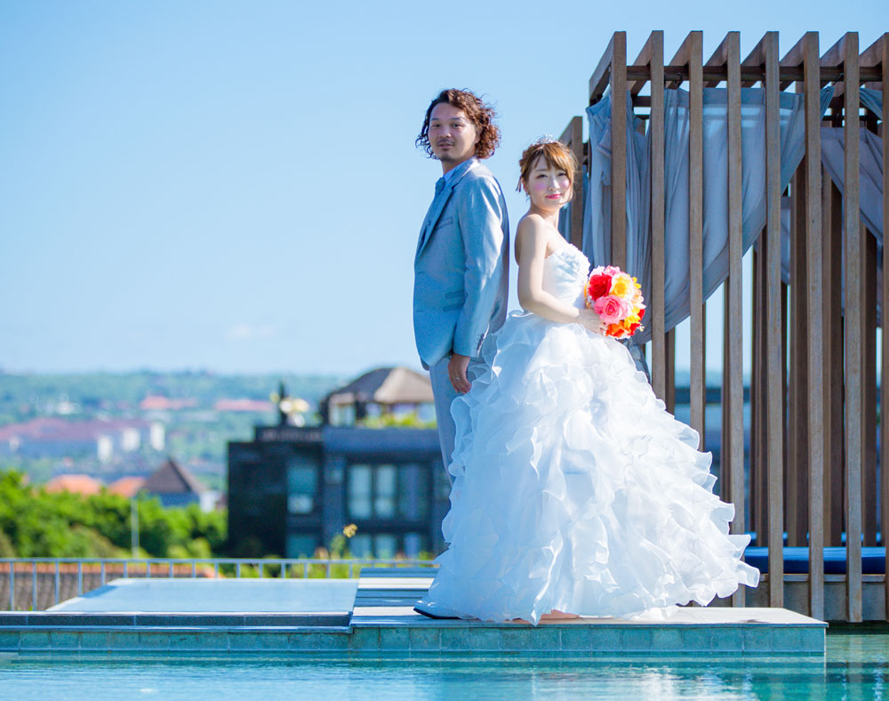 wedding photo shooting