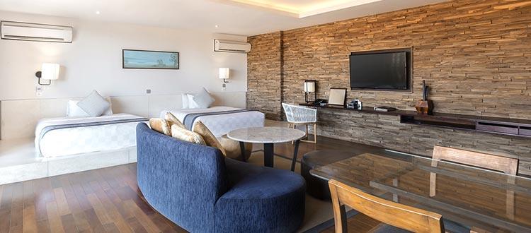 Premium suite room watermark hotel bali