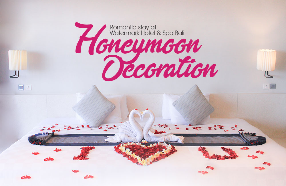 Honeymoon decoration