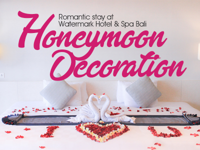 Honeymoon decoration