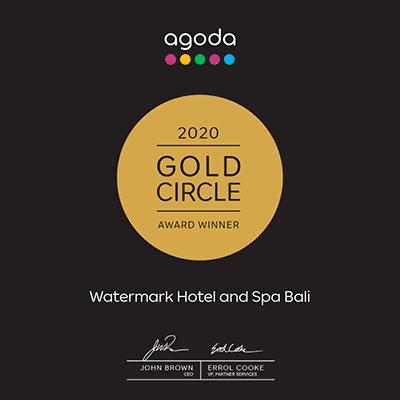 AGODA 2020 Gold circle